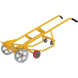 Vestil Multi-Purpose 4-Wheel Pallet Drum & Cradle Truck RDBT-SS Steel Wheels