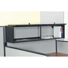 "60"" Overhead Cabinet In Black"