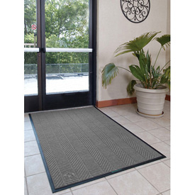 Waterhog Eco Elite Fashion 3' Wide 4 Ft Up To 60 Ft Grey Ash