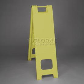 "Narrowcade Barricade Sign Stand 45"" H With 2 Panels No Sheeting - Pkg Qty 2"