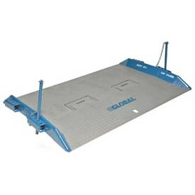 Bluff® 15T7284 HD Steel Dock Board with Lock Pins 72 x 84 15,000 Lb. Cap.