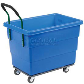 Ergonomic Push Handle for Dandux Plastic Box Trucks - Factory Installed Only