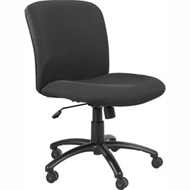 Big & Tall Mid Back Chair Black