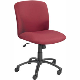Big & Tall Mid Back Chair Burgundy