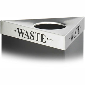 Triangular Lid - Waste