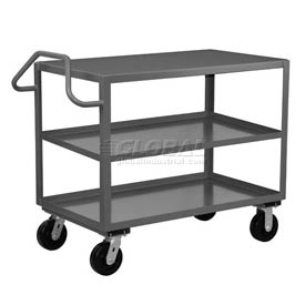 Jamco 3 Shelf Ergonomic Service Cart EF272 2400 Lb. Capacity 24 x 72