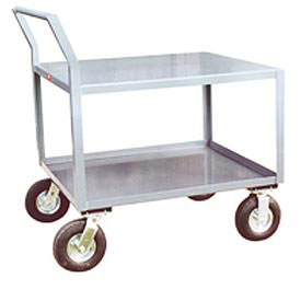 Jamco Offset Handle Low Profile Cart SS260 1200 Lb. Capacity 24 x 60