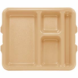 Cambro 9114CW133 - Tray 4 Compartment Deep, Beige - Pkg Qty 24