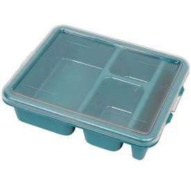 Cambro 911CWC135 - Lid For Meal Delivery Tray, Clear - Pkg Qty 24