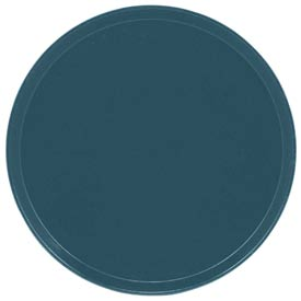 "Cambro 1550401 - Camtray 15.5"" Round Low,  Slate Blue - Pkg Qty 12"