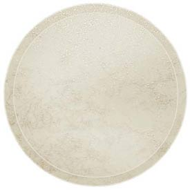 "Cambro 1950526 - Camtray 19.5"" Round Low,  Galaxy Antique Parchment Gold - Pkg Qty 12"