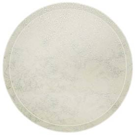 "Cambro 1950531 - Camtray 19.5"" Round Low,  Galaxy Antique Parchment Silver - Pkg Qty 12"