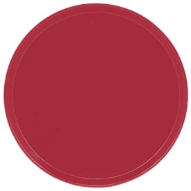 "Cambro 1950221 - Camtray 19.5"" Round Low,  Ever Red - Pkg Qty 12"