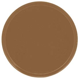 "Cambro 1600508 - Camtray 16"" Round,  Suede Brown - Pkg Qty 12"