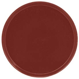 "Cambro 1550501 - Camtray 15.5"" Round Low,  Real Rust - Pkg Qty 12"