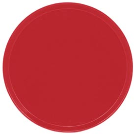 "Cambro 1550510 - Camtray 15.5"" Round Low,  Signal Red - Pkg Qty 12"