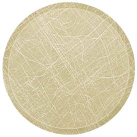 "Cambro 1600214 - Camtray 16"" Round,  Abstract Tan - Pkg Qty 12"