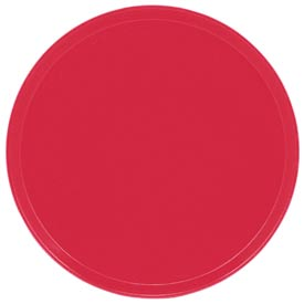 "Cambro 1550521 - Camtray 15.5"" Round Low,  Cambro Red - Pkg Qty 12"