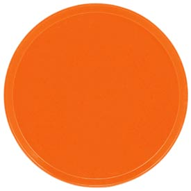 "Cambro 1550220 - Camtray 15.5"" Round Low,  Citrus Orange - Pkg Qty 12"