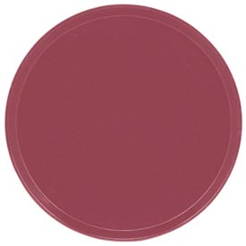 "Cambro 1950410 - Camtray 19.5"" Round Low,  Raspberry Cream - Pkg Qty 12"