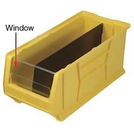 Quantum Clear Window WUS976 For Hulk Bins QUS976, QUS986, 16-1/2 x 29-7/8 x 15, Price Per Each
