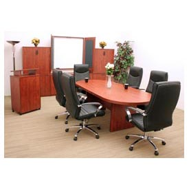 Regency Conference Table - Racetrack 95 x 43 - Cherry - Legacy Series