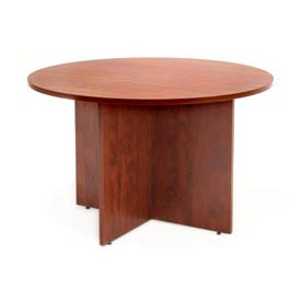 "Regency Conference Table - Round 42"" - Cherry - Legacy Series"