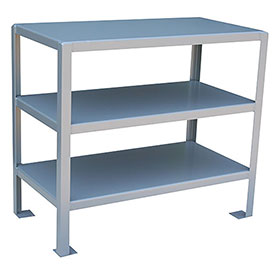 36 X 18 3 Shelf Machine Table
