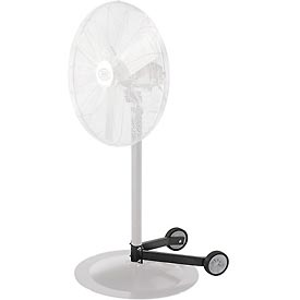 """Fan Dolly for Pedestal Fans - fits 1-1/2"""" to 2-1/4"""" dia. columns and 28"""" and smaller bases"""