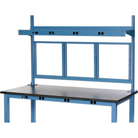 "72""W Panel Mounting Kit - Blue"