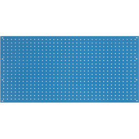 "36""W x 19""H Pegboard Panel - Blue"