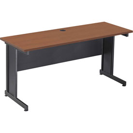 "Interion™ 60"" Desk Cherry"