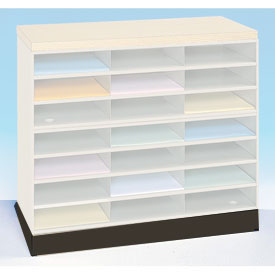 Optional Horizontal Literature Rack Base - Black
