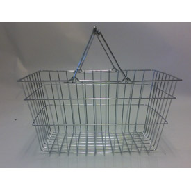 Wire Mesh Shopping Basket, Good L Corp. ® - Pkg Qty 4