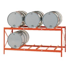 Modern Equipment MECO DR6-2H Drum Storage Rack - 6 Drum Storage
