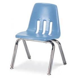 Virco® 9012 Classic Series™ Classroom Chair - Light Blue Vented Back