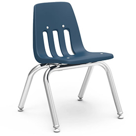 Virco® 9012 Classic Series™ Classroom Chair - Navy Vented Back - Pkg Qty 4