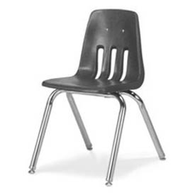 Virco® 9016 Classic Series™ Classroom Chair - Gray Vented Back - Pkg Qty 4