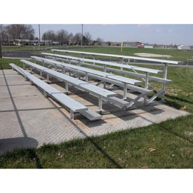 Aluminum Bleachers 5 row 21' W