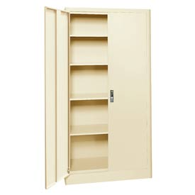 Sandusky Elite Radius Edge Series Storage Cabinet ER4P361872 - 36x18x72, Putty