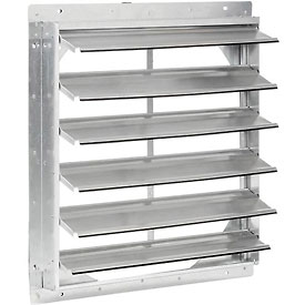 "Shutter For 24"" Exhaust Fans"