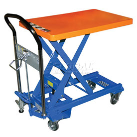 Southworth Dandy Lift L-250 Mobile Scissor Lift Table 550 Lb. Capacity