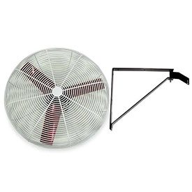 "Multifan 24"" Wall Mount Basket Fan 245775 1/3 HP 8000 CFM"