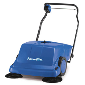 "Powr-Flite® 36"" Battery Powered Sweeper"