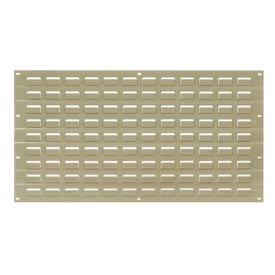 Louvered Wall Panel Without Bins 18x19 Tan