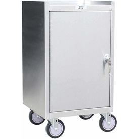 Jamco Stainless Steel Mobile Cabinet YT118 18 x 18 1200 Lb. Cap