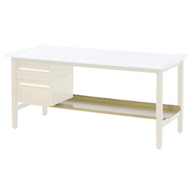 "60""W Lower Shelf For Bench - 15""D- Tan"