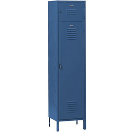 Penco 6447V806 Vanguard Box Over Locker 18x21x72 Ready To Assemble Marine Blue