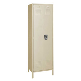 Penco 6MTJ172073 Vanguard Executive Locker 24x18x72 with Legs Ready To Assemble Champagne