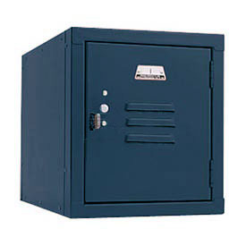 Penco 6159V806 Vanguard One High Box Locker 12x15x13-5/8 Unassembled Marine Blue